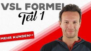 Der perfekte VSL | Mehr Kunden durch VIDEO-SALES-LETTER | Teil 1 |Pascal Feyh