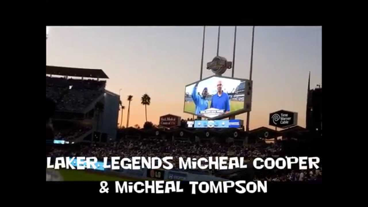 dodgers stadium magic johnson bobble head night  youtube