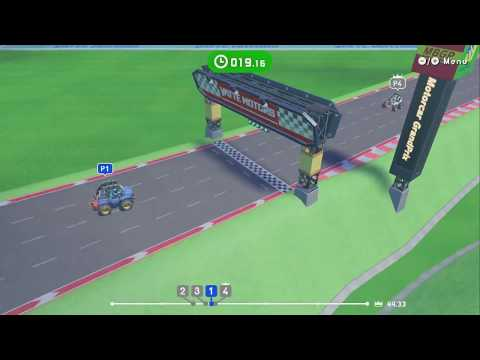 Slot Car Racing ~ Level 3:Flexing Bicep ~ All AI Difficulties – LABO 03: Vehicle Kit – No Commentary