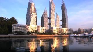 Construction Videos - The Creation of the Reflections at Keppel Bay