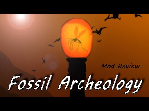 Minecraft Mod Review - Fossil Archeology
