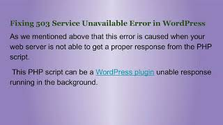 503 Service Temporarily Unavailable - Travel Online