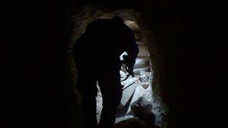 Эксклюзивные кадры подземной разведки сирийских военных в Дейр Эз Зоре