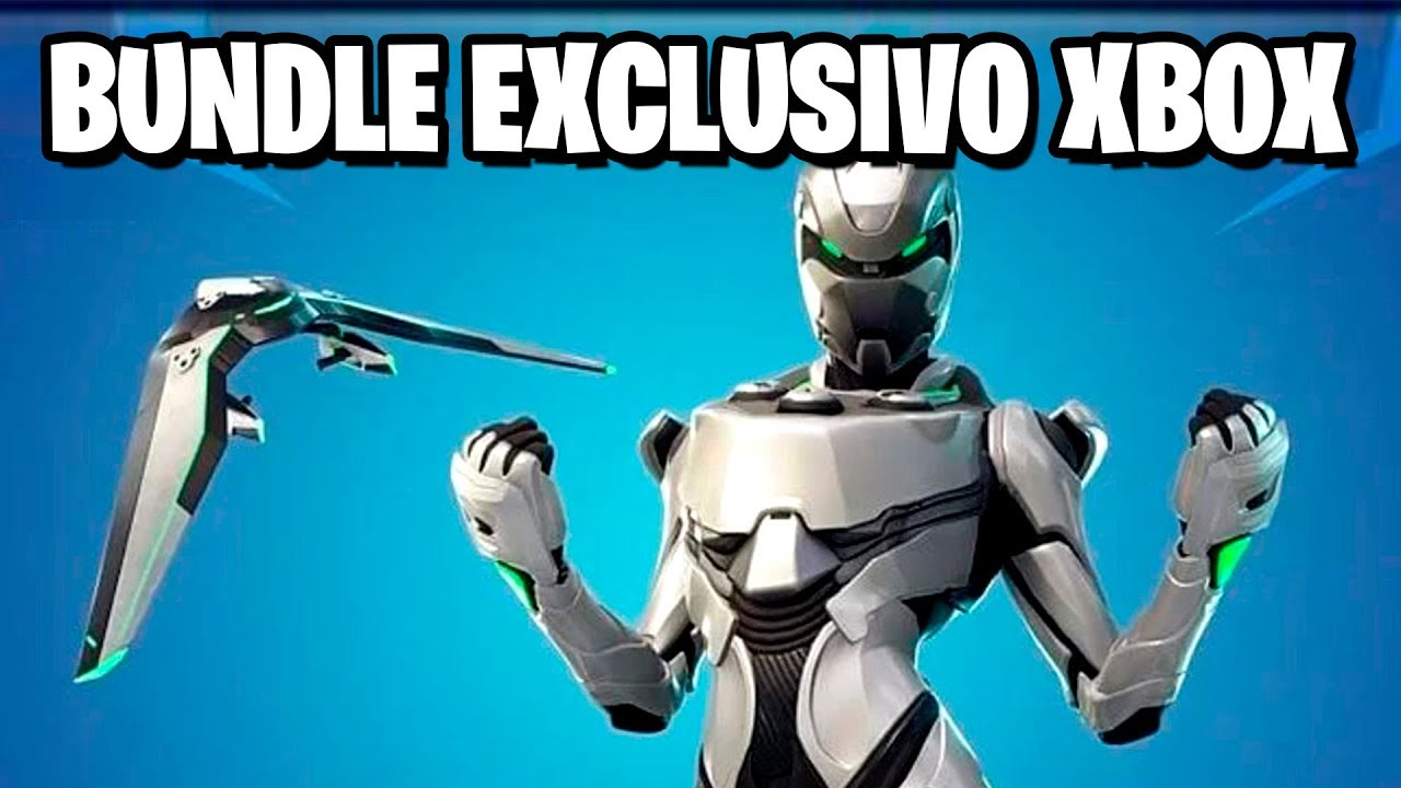 Fortnite - NOVA SKIN EXCLUSIVA XBOX ONE? - YouTube