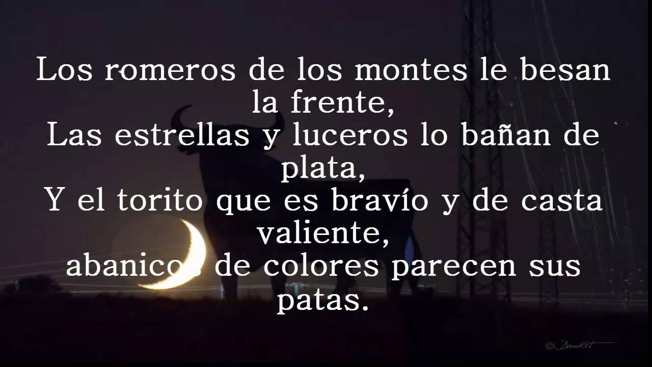 Gipsy Kings El Toro Y La Luna Con Letras