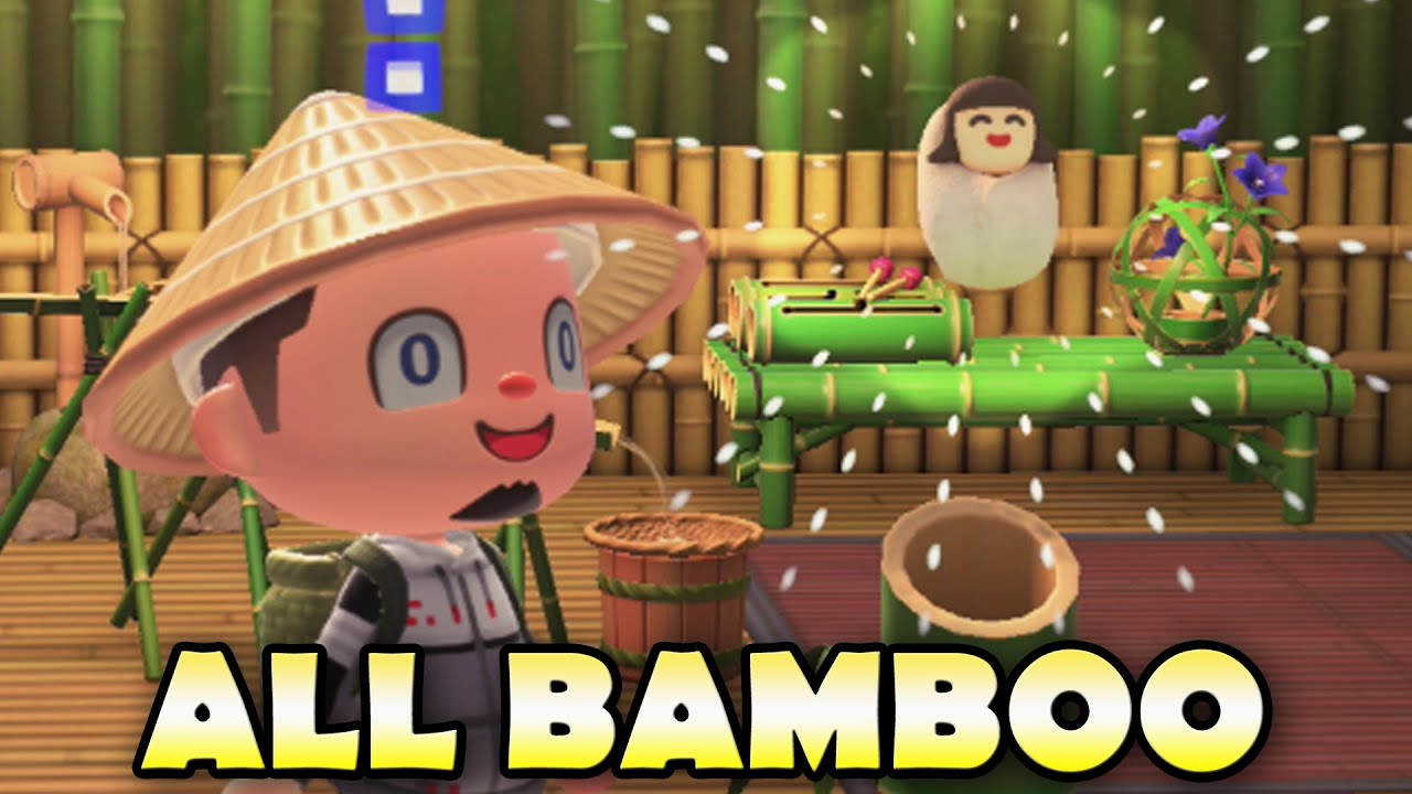 All Bamboo Items In Animal Crossing New Horizons Amp How To