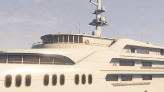 Grand Theft Auto V Online Galaxy super yacht - The Orion