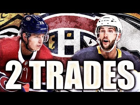 MONTREAL CANADIENS MAKE 2 TRADES - Habs Trade W/ Ottawa Senators, Buffalo Sabres (Reilly, Scandella)