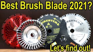 Best Brush Cutter Blade 2021, Let's find out! Stihl, Oregon, Renegade, Forester