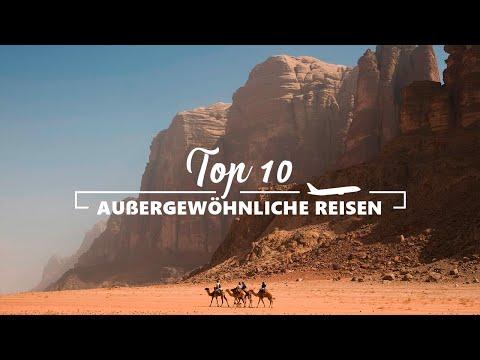 TOP 10 AUßERGEWÖHNLICHE REISEZIELE