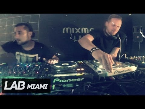 Adam Beyer b2b Joseph Capriati techno set in Mixmag Lab Miam