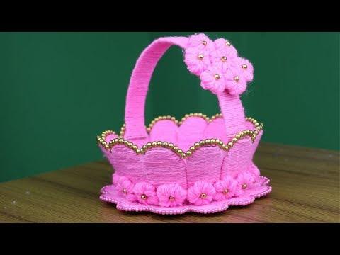 diy-woolen-art-and-craft-ideas---best-reuse-ideas-||-cardboard-crafts-ideas---diy-arts-and-crafts