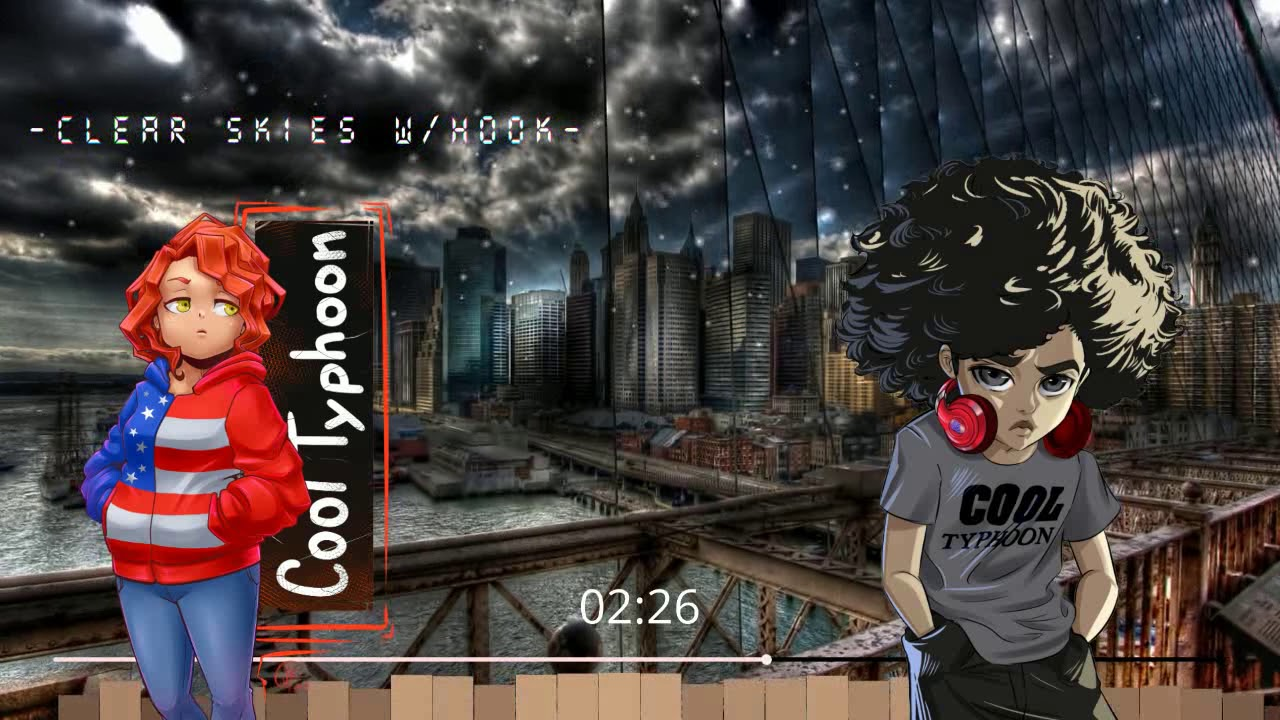 ▶Epic Hip Hop Beat w/Hook  -Clear Skies- Trap Type Beat w/Hook 2020 (Cool Typhoon) ▶ New Video