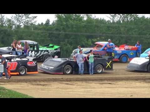 Kids Night Track overview at Crystal Motor Speedway, Michigan on 07-22-2017