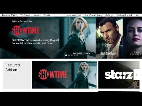 Amazon Prime Instant Video Addons