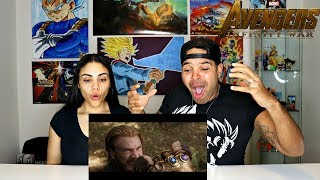 Marvel Studios' Avengers: Infinity War - Official Trailer Reaction!!!