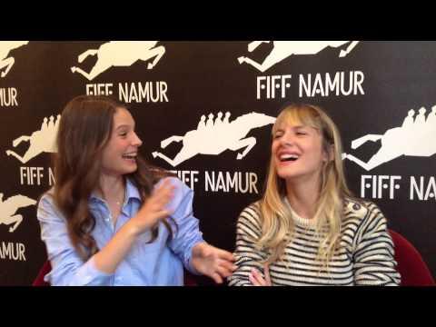 FIFF 2014 - L'Interview (de Mélanie LAURENT et Jospéhine JAPY)