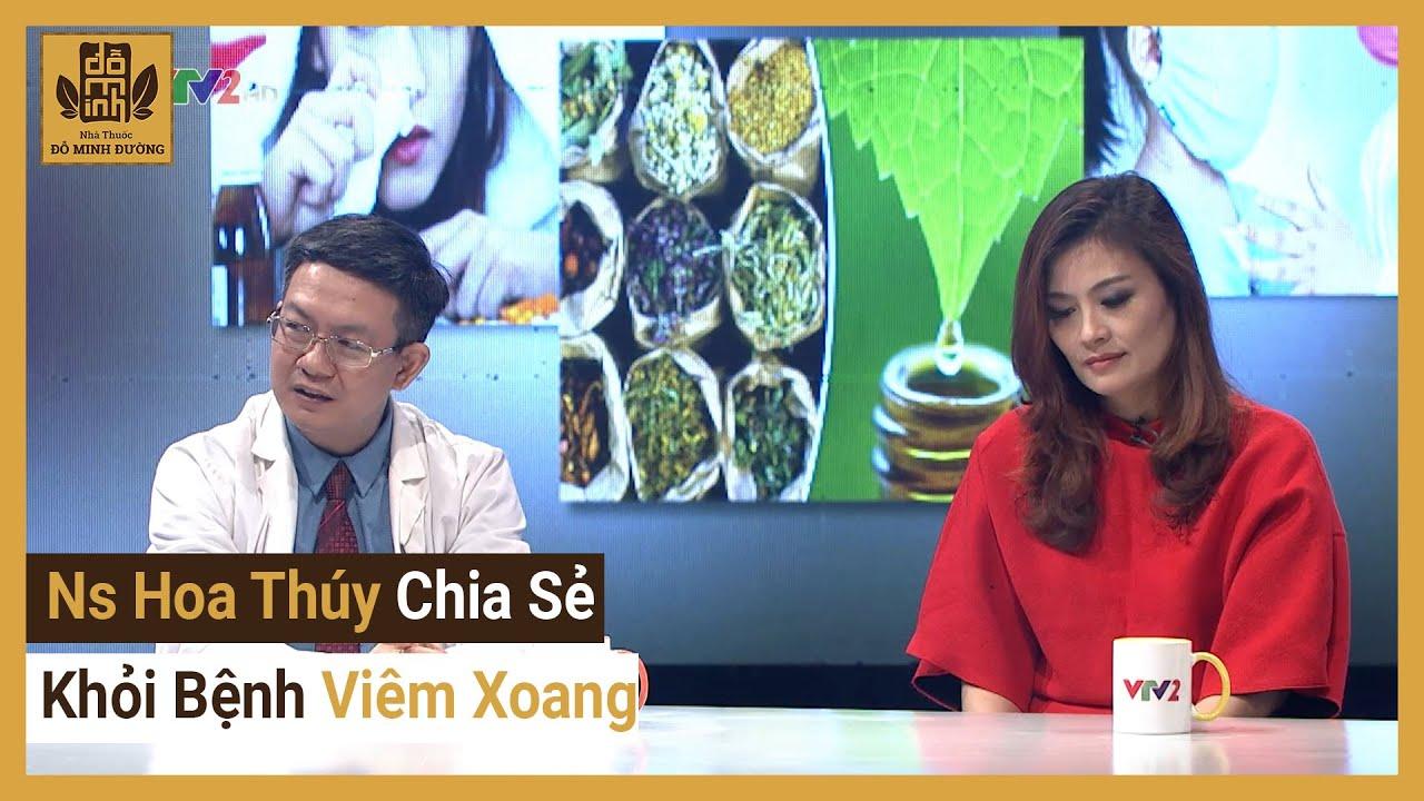 Sống khỏe mỗi ngày VTV2 –  Nhà Thuốc Đỗ Minh Đường Điều Trị Khỏi Bệnh Viêm Xoang của DV Hoa Thúy