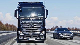Daimler Trucks Highway Pilot Connect - Demonstration