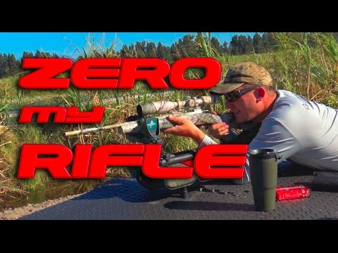 HOW TO PROPERLY SIGHT IN A RIFLE!!!