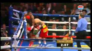 """Adrien Broner"" gets knocked out!!! WOW  Maidana"