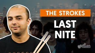 Last Nite - The Strokes (aula de bateria)