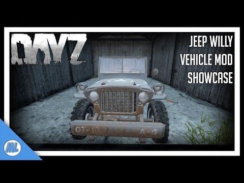 #DayZ Jeep Willy - Showcase & Review - DayZ 1.05