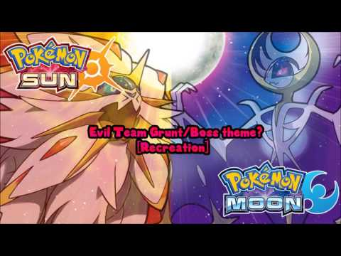 Pokémon Sun & Moon Unused Boss theme [Recreation]