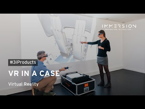 VR in a case by Immersion - Bring virtual reality wherever you are to visualize your prototype