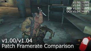 Resident Evil Revelations 2 - 1.00/1.04 Framerate Comparison for PS Vita (Oclockvita)