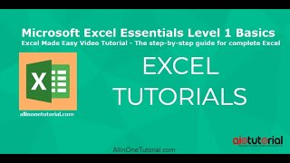 Microsoft Excel Essentials Level 1 Basics -The step-by-step guide for complete Excel