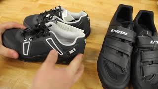 Педали и обувь   B'TWIN