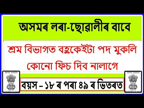 Assam ESI Recruitment 2019 || Assam Grade III Post Recruitment - Education For Assam