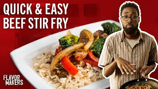 How to Make Beef Stir Fry | Flavor Makers Series | McCormick