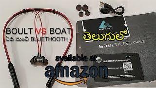 BOULT VS BOAT - BEST BLUETOOTH EARPHONES REVIEW TELUGU 2019