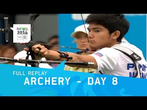 Archery - Quarterfinals,Semi Final & Final Mixed | Full Replay | Nanjing 2014 Youth Olympic Games