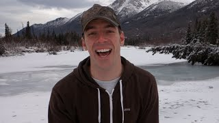 SURPRISE MOOSE! - [Living In Alaska 277]