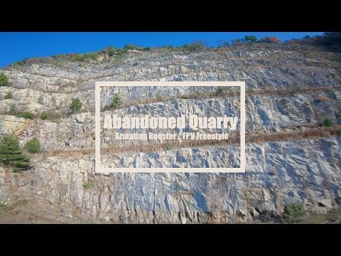 Abandoned Quarry / Armattan Rooster FPV Freestyle