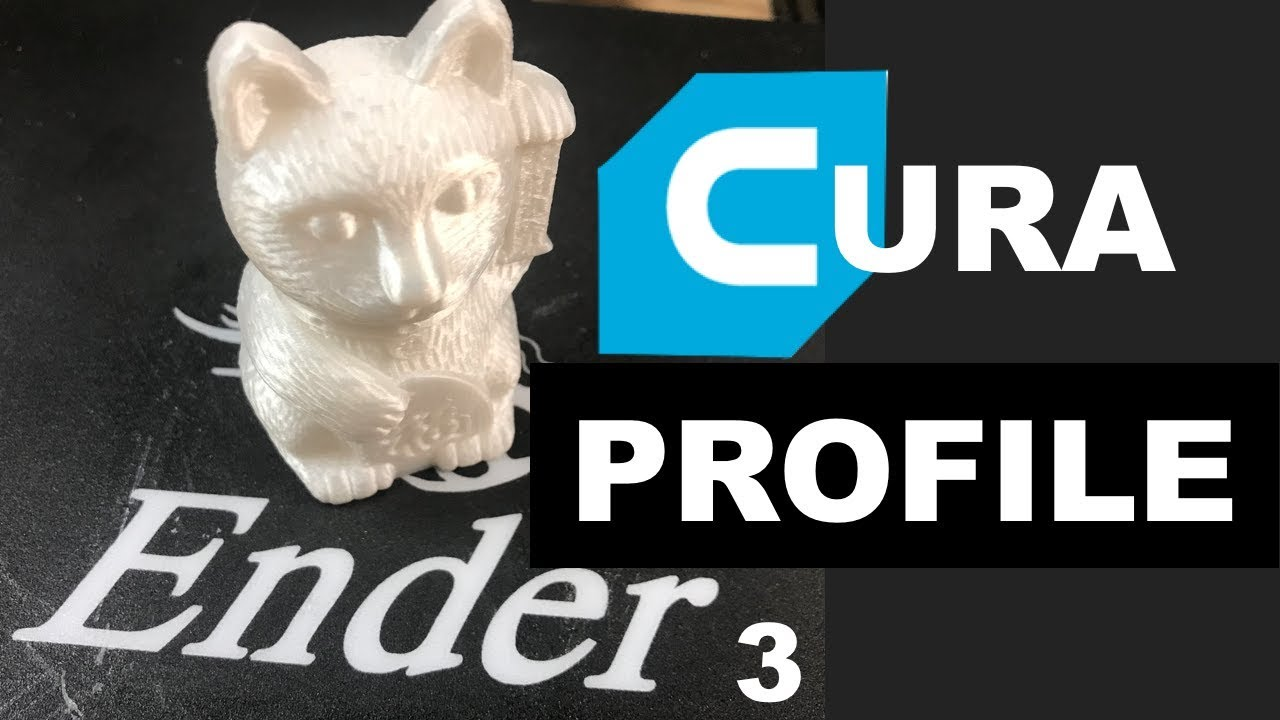 CURA PROFILE - ENDER 3, CR-10, Mini