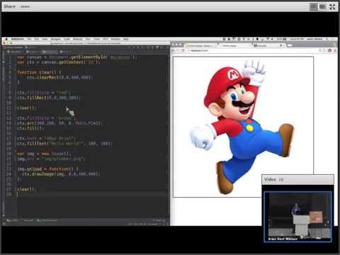 HTML5: Intro to Canvas & Using Angular Material