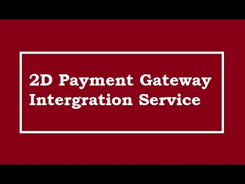 2d payment gateway how to open gateway account for ngo 2d