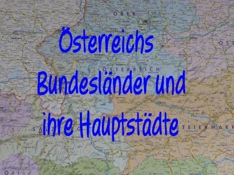 learn german sterreichs bundesl nder und ihre hauptst dte youtube. Black Bedroom Furniture Sets. Home Design Ideas