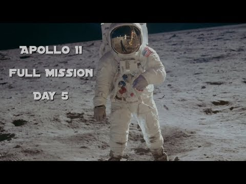 Apollo 11 - Day 5 (Full Mission)