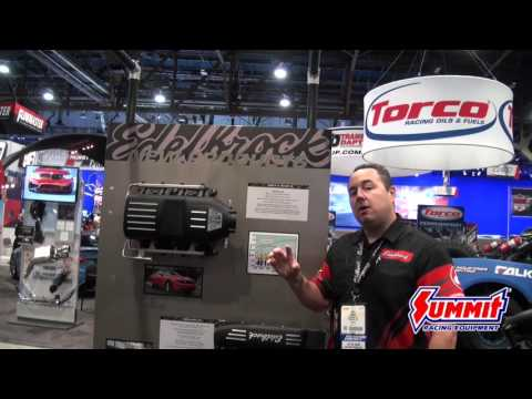 Edelbrock Victor II for the  5.0L - New Product at SEMA 2015