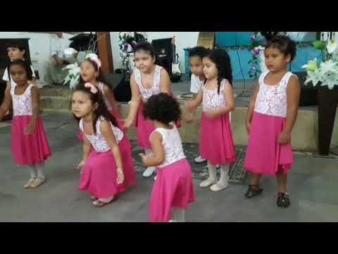 Coreografia dia dos pais Um Puro Coração Ana Paula Valadão
