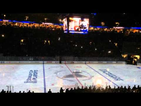 2016 St. Louis Blues Playoff Opening