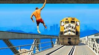 Приколы в GTA 5 | WDF 24 | Поезд-таксист
