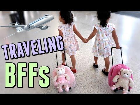 TRAVELING BFFs! - October 29, 2017 -  ItsJudysLife Vlogs