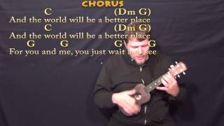 Put A Little Love In Your Heart - Ukulele Cover Lesson in C with Chords/Lyrics