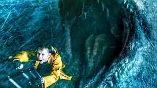 Helicopter Scene - Mosasaurus Attack Full Scene - Jurassic World Fallen Kingdom (2018) Movie Clip HD